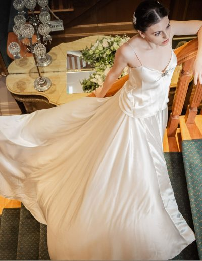 Alluring Sage Wedding Dress