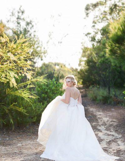 Birds Of Paradise Wedding Dress