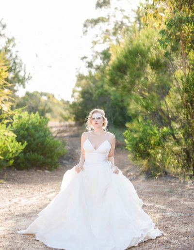 Birds Of Paradise Wedding Dress