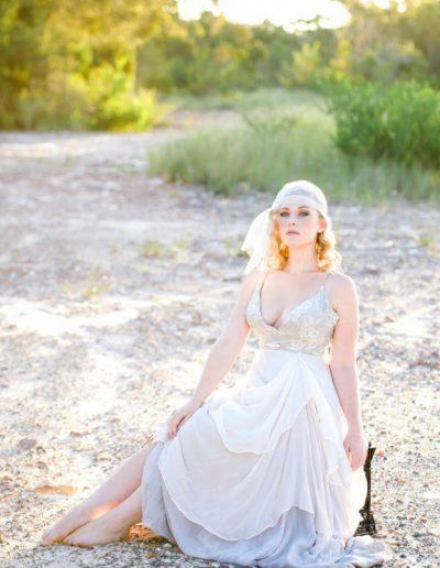 Dancing Stems Entwine Wedding Dress