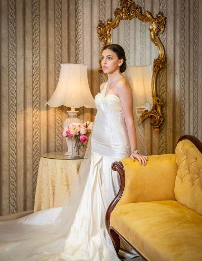 Exquisite Iris Wedding Dress