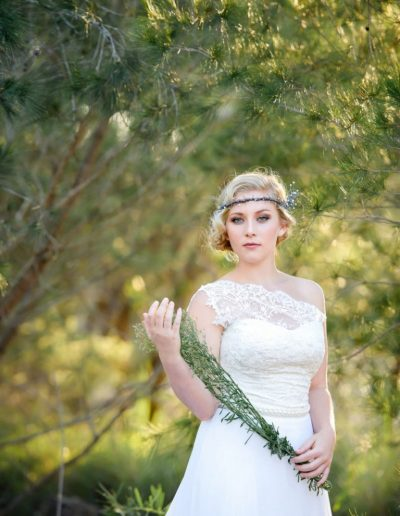 Something Wonderful Has Sprouted Wedding Dress