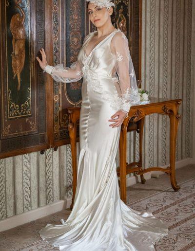 Sweet Petals In The Breeze Wedding Dress