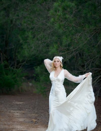 Sweet Petals In The Breeze Wedding Dress