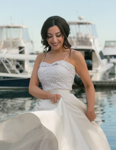Vellos Wedding Dress - Let the Good Times Roll