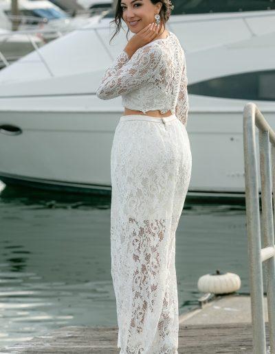 Vellos Wedding Dress - Sea Breeze